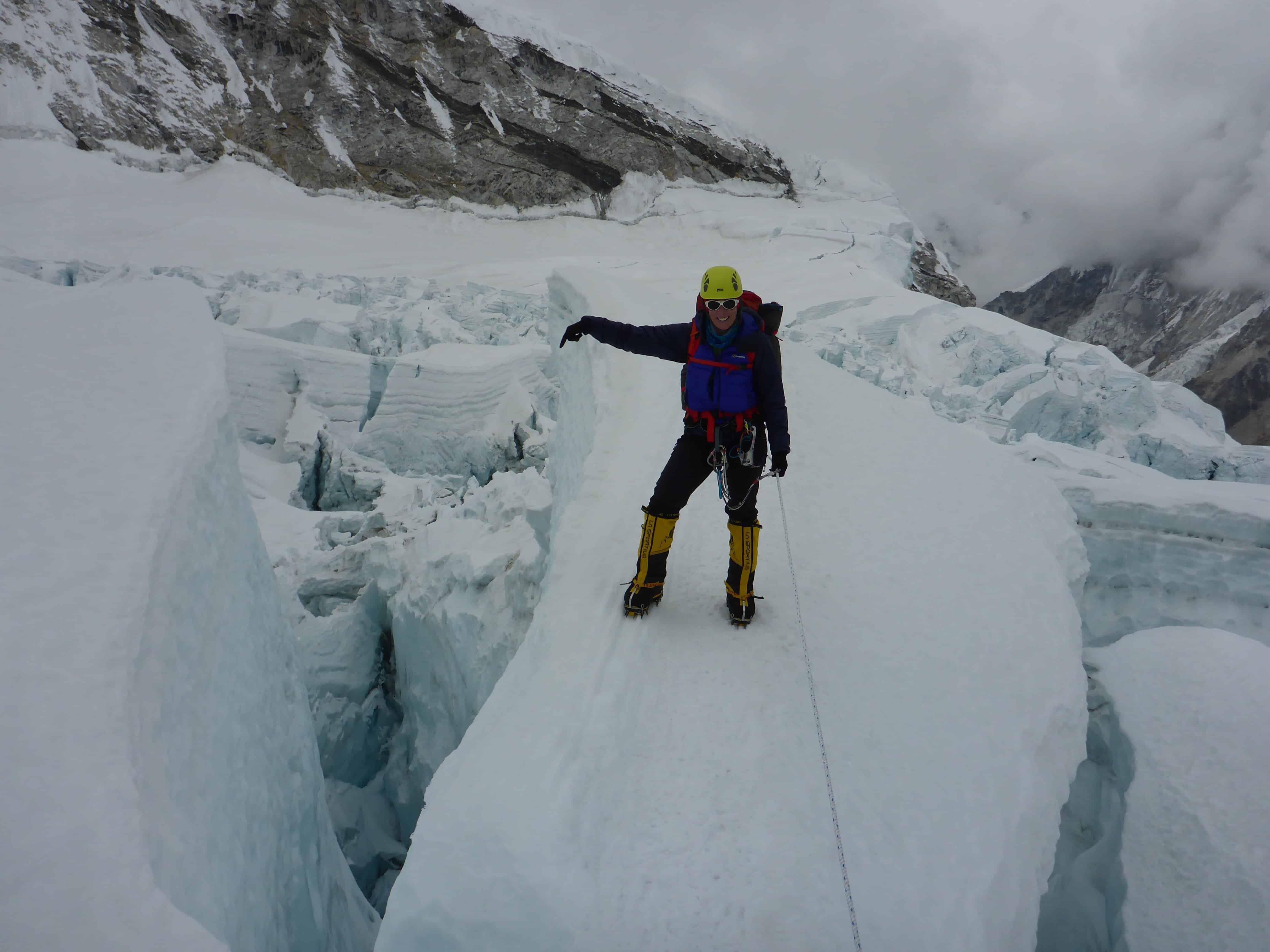 Interview with Jo Bradshaw; climbing Everest