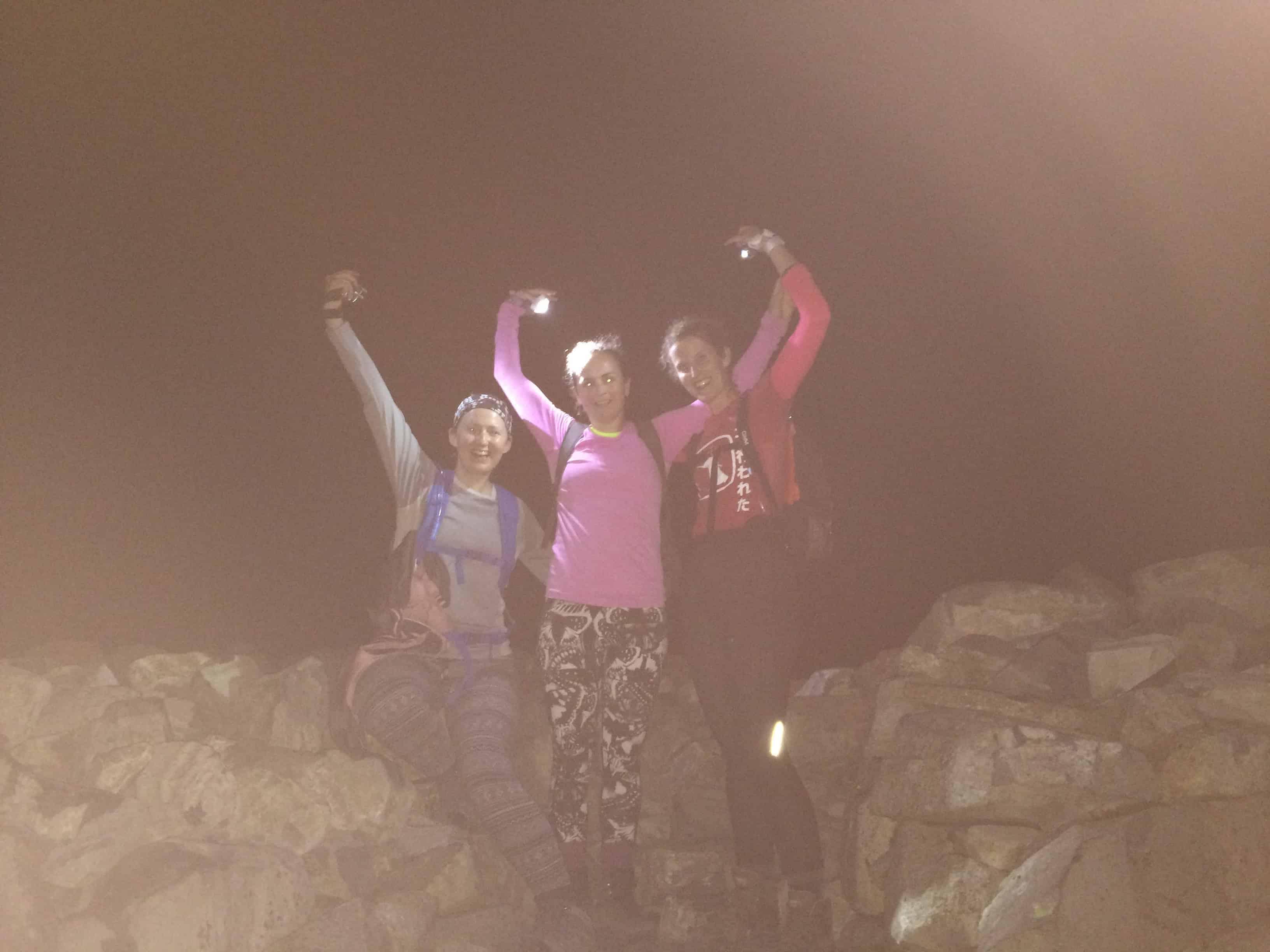 Completing the UK 3 Peaks challenge