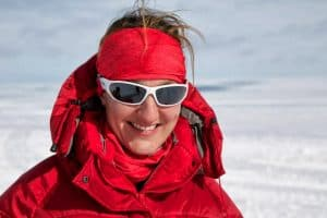 Interview with Maria Leijerstam on cycling to the south pole