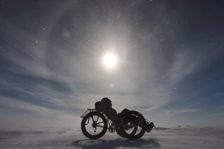 Interview with Maria Leijerstam; Cycling to the South Pole
