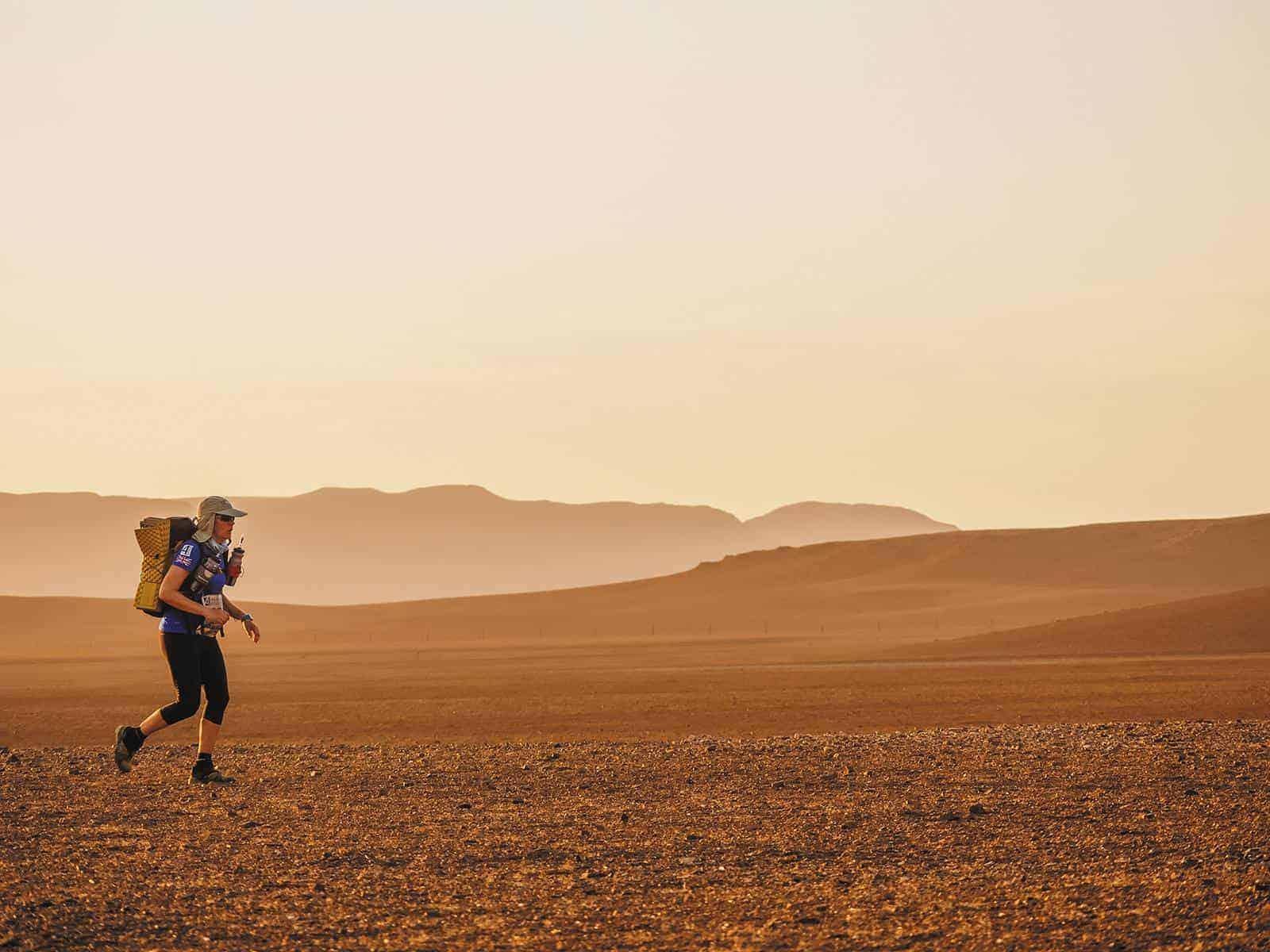 Running 250km across the Namibian Desert
