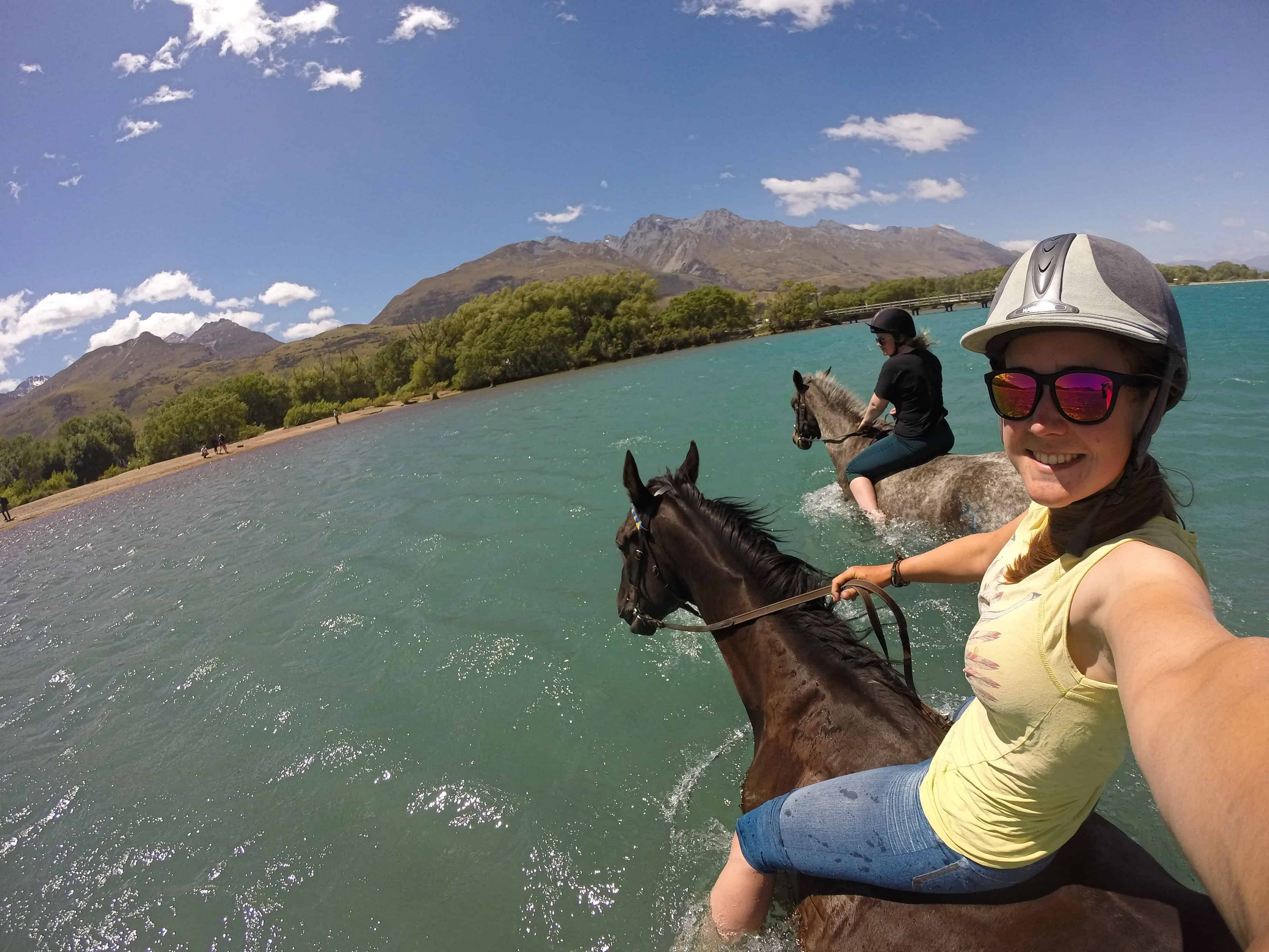 Sally Horse Trekking Guide NZ