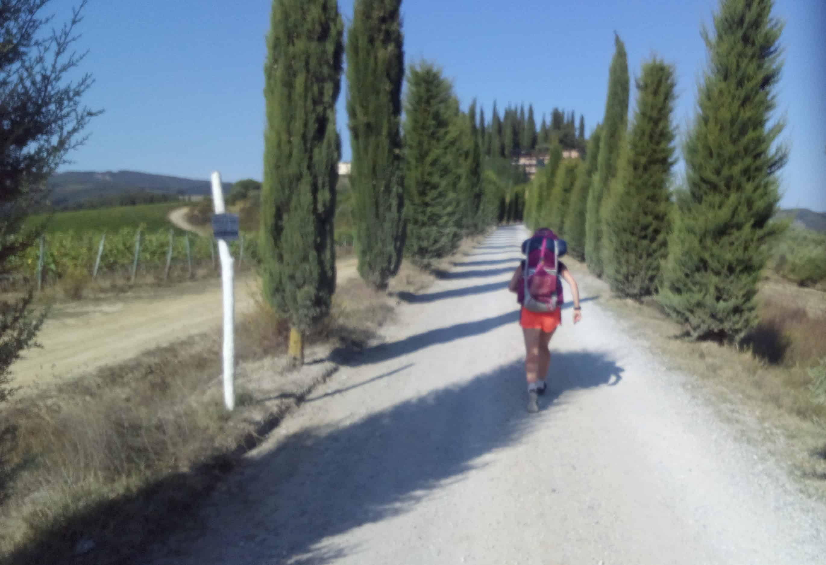 Running Home from Rome; Half Way There
