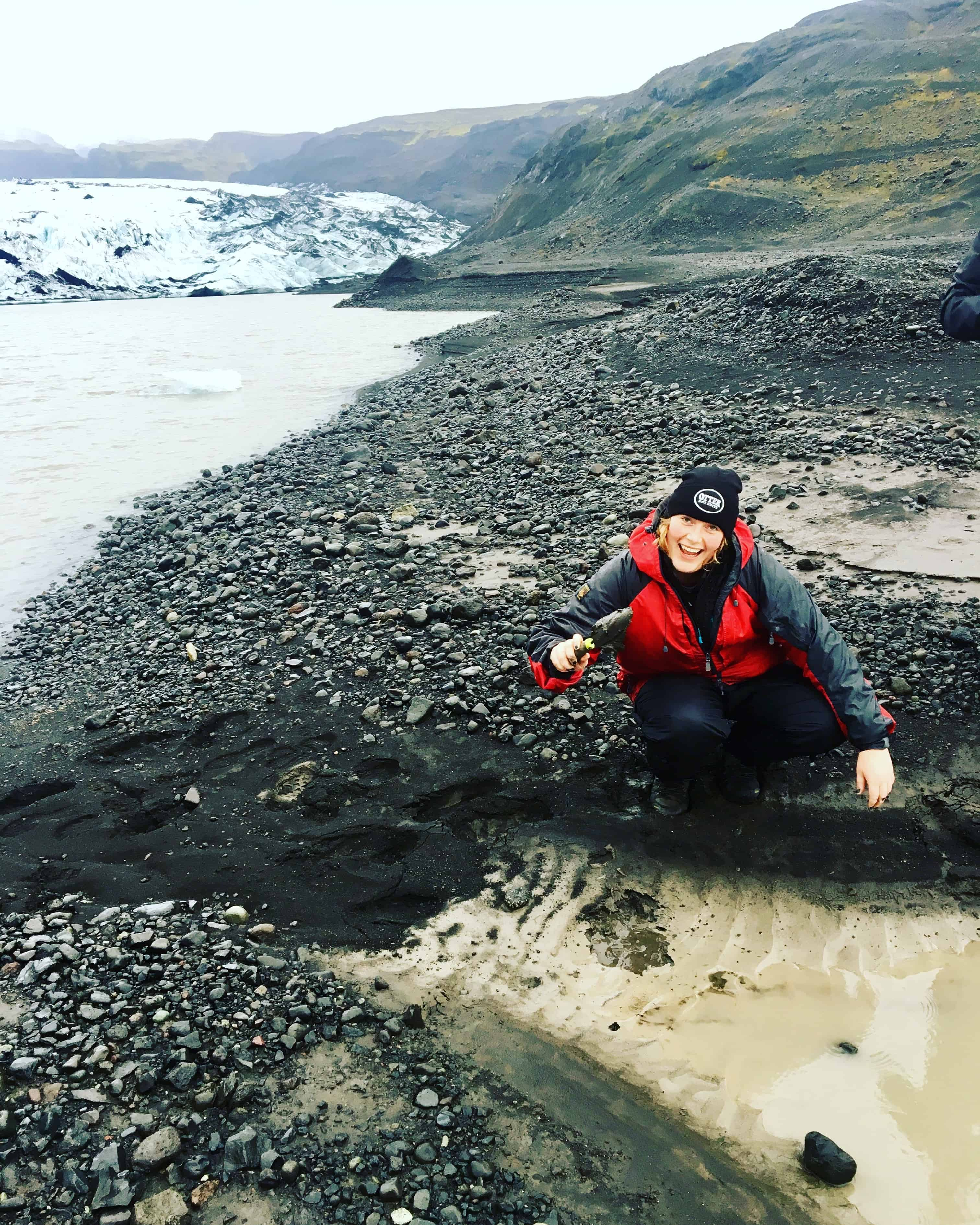 scientific expedition in Iceland
