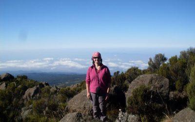 Summit night on Kilimanjaro