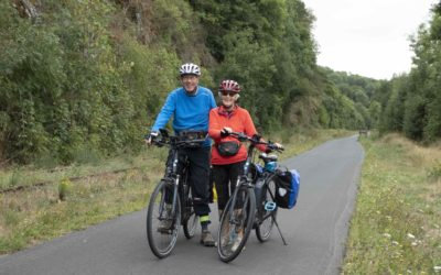 Interview Prue Knowles; on starting long-distance adventures in your 50's!